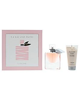 Lancome La Vie Est Belle Eau De Parfum Gift Set For Her