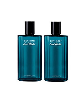 Davidoff Coolwater Men 125ml Twinpack