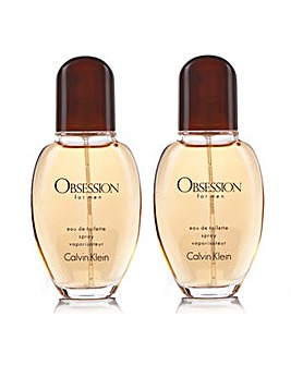 CK Obsession 30ml Mens Twin Pack