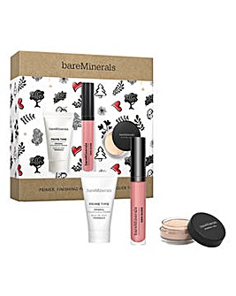 Bare Minerals Primer, Finishing Powder and Lip Lacquer Triple Set