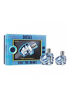 Diesel Only The Brave 75ml EDT & 35ml EDT Set
