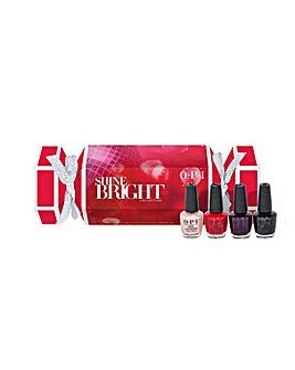 OPI Shine Bright 4pc Mini Cracker Set