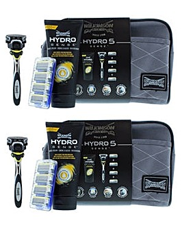 Wilkinson Sword Hydro 5 Sense Razor 7pc Set Twin Pack