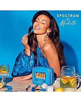 Spectrum Collections Michelle Keegan Azure Blue Travel Set