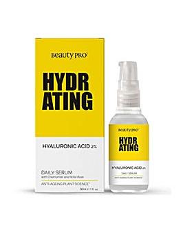 Beauty Pro Hydrating Hyaluronic Acid 2% Daily Serum 30ml