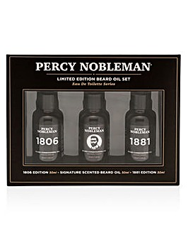 Percy Nobleman Limited Edition Beard Oil Set