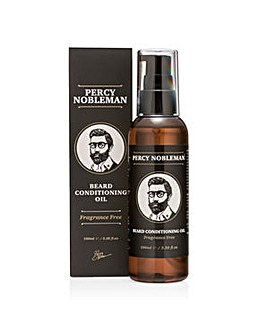 Percy Nobleman Fragrance Free Beard Conditioning Oil 100ml