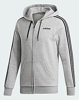 adidas Essential 3 Stripe Zip Fleece
