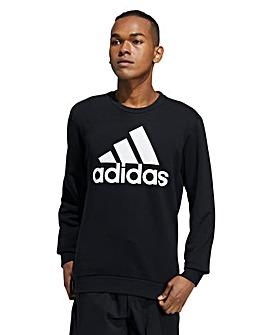 adidas Big Logo Crew Sweatshirt