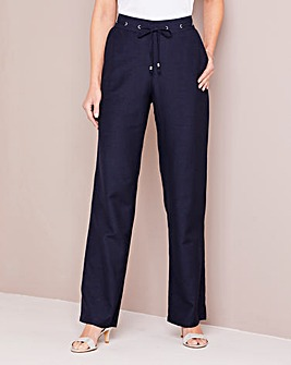 Julipa Linen Mix Trouser Regular