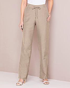 Julipa Linen Mix Trouser Regular