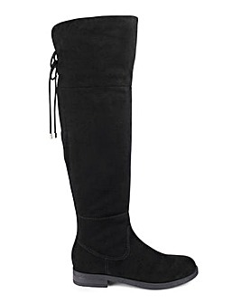 Head Over Heels by Dune Tammi Boot Standard Calf