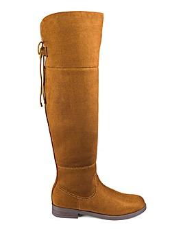 Head Over Heels by Dune Tammi Boot Standard Calf