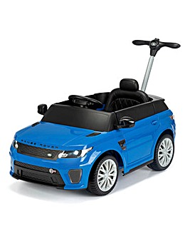Range Rover 6V Ride On/Push Car - Blue