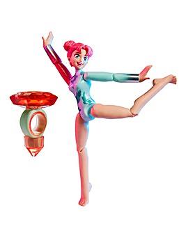 Team GEM Magic Balance Gemnast Doll Ruby