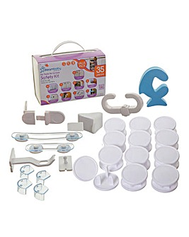 Dreambaby 35pc No Tools No Screws Safety Kit