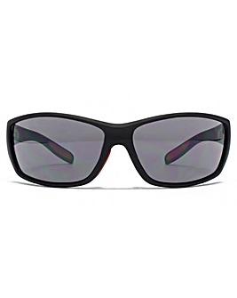 FCUK Rectangle Wrap Sunglasses