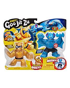 Heroes of Goo Jit Zu Pantaro vs Battaxe