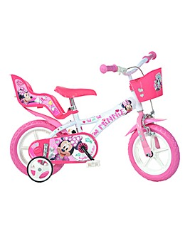 Dino Bikes Minnie 12 Inch Childrens Bike