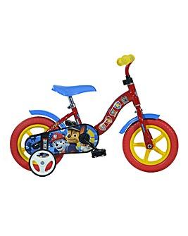 Dino Bikes Paw Patrol 10 inch Bike