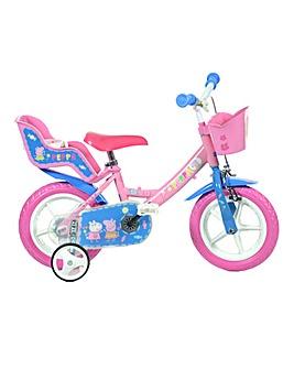 Dino Bikes Peppa Pig 12 inch Bike