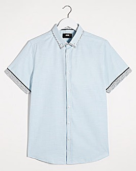 MINT S/S DOUBLE COLLAR SHIRT REG
