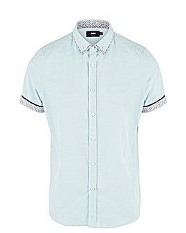 Mint Double Collar S/S Shirt Reg