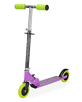 Xootz Purple Folding Scooter