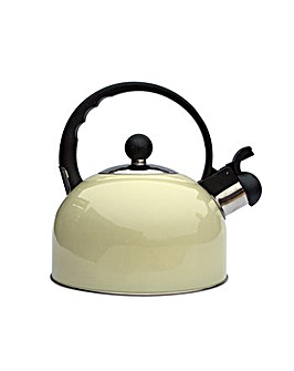 2.2Ltr Whistling Kettle Cream