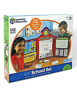 Learning Resources Pretend & Play School Set UK Version