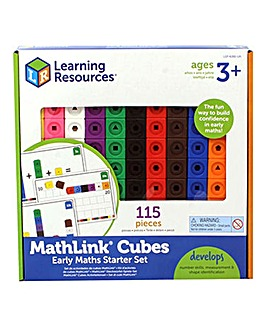 Learning Resources Mathlink Cubes Set