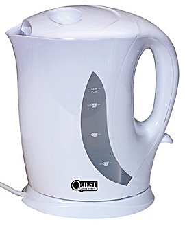 1.7L White low wattage kettle
