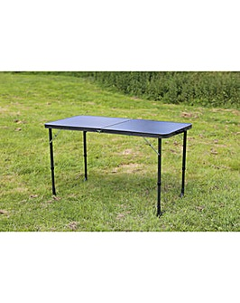 Superlite black Stow folding table
