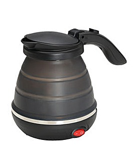 Collapsible electric kettle with folding