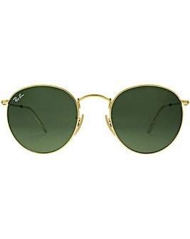 Ray-Ban Metal Round Sunglasses