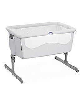 Chicco Next2Me Standard Side Sleeping Crib - Light Grey