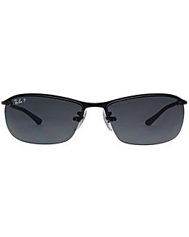 709b9454f6752e Ray-Ban Rimless Wrap Sunglasses