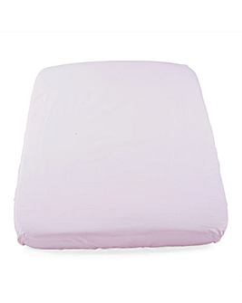 Chicco Next2Me Crib Sheet 2 Piece Set - Pink Pois