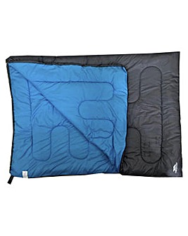 Trespass 400GSM Double Sleeping Bag