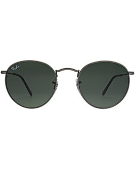 Ray-Ban Metal Round Sunglasses