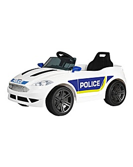 EVO 6 Volt Battery Operated Convertible Police Car