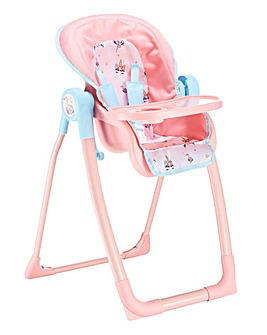 Babyboo Doll Feed and Play Highchair
