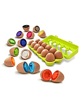 Play & Learn Yolkees Mix and Match Eggs
