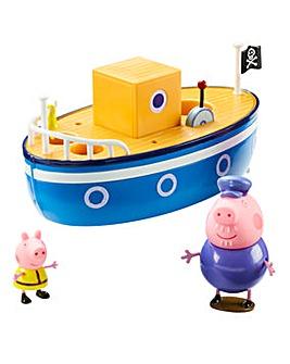 Peppa Pig Grandad Pig Bathtime Boat