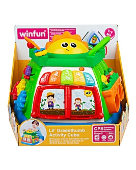 Winfun Lil' Greenthumb Activity Cube