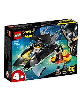 LEGO DC Superheroes Batman Batboat The Penguin Pursuit! 4+ - 76158