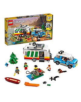 LEGO Creator 3in1 Caravan Family Holiday - 31108