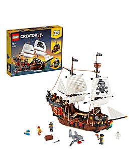 LEGO Creator 3in1 Pirate Ship - 31109