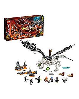 LEGO NINJAGO Skull Sorcerer's Dragon - 71721