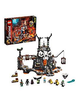 LEGO NINJAGO Skull Sorcerer's Dungeons - 71722